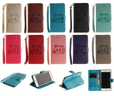 1X Panda Flip Wallet Leather Magnetic Card Holder Case Cover For iPhone Samsung
