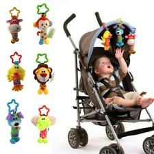 Kids Baby Hanging Toys Rattles Animal Handbells Baby Car Stroller Pram Toy