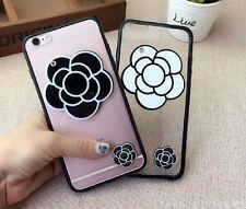 Camellia Flower TPU Case Cover Skin  For iPhone 6/6S Plus iPhone7 Plus New