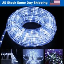 Christmas Landscape LED Rope Light for Party Holiday Decoration 8Mode-Cool White