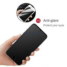 For iPhone X 7 Plus 6S Matte Frosted Tempered Glass HD 9H Screen Protector Film