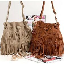 Women Bag Handbags Tote Over Shoulder Crossbody Sling Summer Tassel Purse