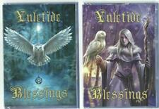 Yule Midwinter Solstice Festive  Christmas Cards Pagan Fantasy Gothic Wiccan