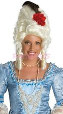 Ladies Fancy Dress Costume Wig - Red Rose Marie Antoinette Wig (0159)