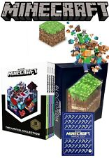 Minecraft Books Collection Set by Mojang Handbooks, Annual Book, Blockopedia