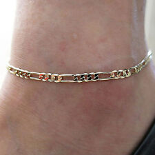 Fashion Women Simple Jewelry Figaro Link Chain Foot Anklet Ankle Bracelet