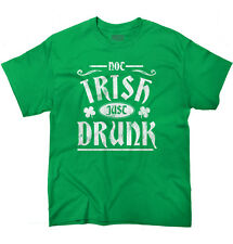 Lucky Clover St. Patricks Day Beer Irish Drunk Funny Humor T T-Shirt Tee