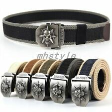 Skeleton Canvas Belt Belt Belt Extension Thickening Male Leisure Tide