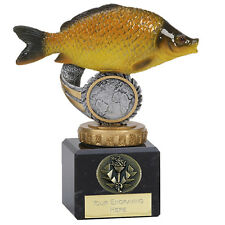 """COMMON CARP Fishing Trophy 4.75"""" FREE ENGRAVING Angling Personalised Award NEW"""