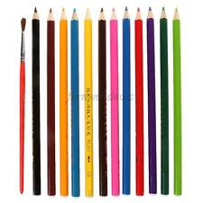 12 or 24pcs/Set Water-Soluble Colored Pencils Colored Pencils Coloring Pencils