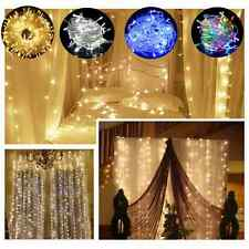 Waterproof Fairy Lights 100 /200 /240/300/600 LED Outdoor Christmas Tree Wedding