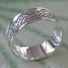 Thai Beautiful 925 Sterling Silver Ring Size.US=10,UK=T