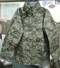 AIR FORCE ABU DIGITAL TIGER STRIPE APEC PARKA JACKET GORE-TEX NEW LARGE LONG