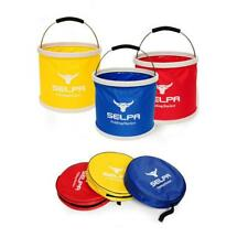 11L Camping Fishing Collapsible Bucket Foldable Container Pail Storage with Bag