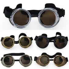 Vintage Cyber Goggles Steampunk Steam Punk Welding Goth Cosplay GOGGLES Rustic