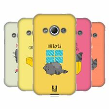 HEAD CASE DESIGNS WILBUR THE CAT SOFT GEL CASE FOR SAMSUNG GALAXY XCOVER 3