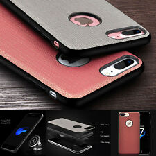 Luxury PU Leather Shockproof Car Stand Holder Case Cover For iPhone 6S/77Plus QA