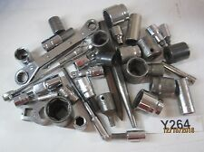 MIXED LOT: 34 Vintage Sockets, Wrenches, Punches, Hex Drivers Craftsman, Matco &