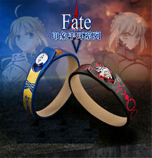 1 PC Fate Stay Night Saber Avalon Anime Cosplay Unisex Silver Clasp Bracelet
