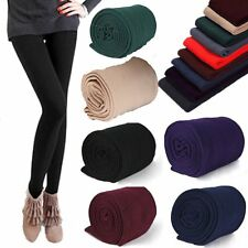 Women Warm Winter Thick Footless Skinny Slim Leggings Stretch Pants BE