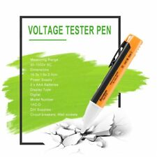 LED Light AC Electric Voltage Tester Volt Test Pen Detector Sensor 90~1000V FS