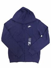 Nike Full Zip Fleece Hoodie Purple