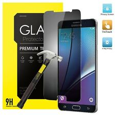 2017 Privacy Anti-Spy REAL Tempered Glass Screen Protector For Samsung Galaxy J5