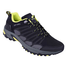 Elbrus Conor Low WP (Waterproof) Softshell Black Mens Hiking Shoes Outdoor