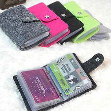 Unisex Pouch ID Credit Card Cash Holder Wallets Organizer Case Box Pocket Pouch