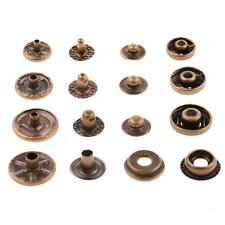 NEW Snap Fasteners Popper Press Stud Buttons for Leathercraft Sewing Leather