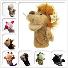 Animal Wildlife Hand Glove Puppet Soft Plush Puppets Kid Childrens Toy Funny JD
