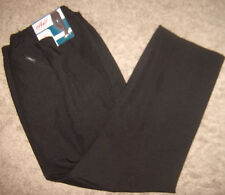 Chic Easy Care Woman's black dress pants with pockets size 18W petite