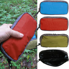 Waterproof Outdoor Camping Travel Toiletry Hanging Wash Cosmetic Storage Zip Bag
