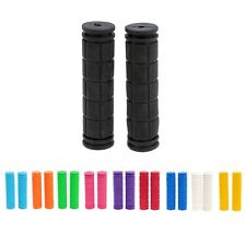 MTB BMX Soft Mountain Bike Cycling Handlebar Grips Fixed Gear Rubber Bicycle