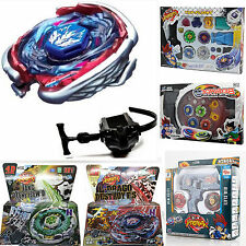 Beyblade 4D Metal Master Fusion Top Rapidity Fight Launcher Set Birthday Gift