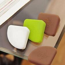 4x Baby Safety Glass Table Desk Edge Guard Protector Bumpers Soft Corner Cushion