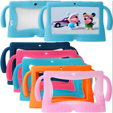 "Silicone Soft Gel Case Back Cover For 7"" Android 4.4 A23 / A33 Q8 Tablet PC Mini"