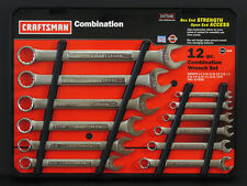Craftsman 12 pc Combination Wrench Set Made in USA Choose Type
