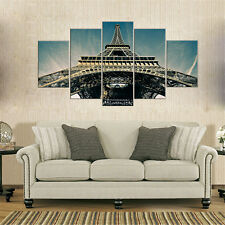 5 Pieces Oil Painting Canvas Prints Wall Pictures for Living Room No Frame