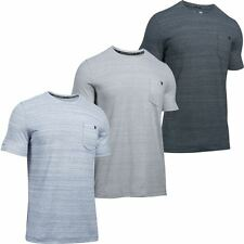 Under Armour 2017 Charged Cotton Mens Short Sleeve Pocket T-Shirt Sports Tee