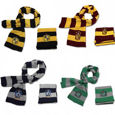 Harry Potter Cosplay Costume Gryffindor Ravenclaw Slytherin Knit Scarf Muffle