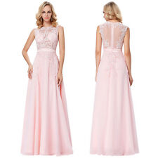 Women Long Sexy Evening Party Bridal Prom Gowns Formal Bridesmaid Cocktail Dress