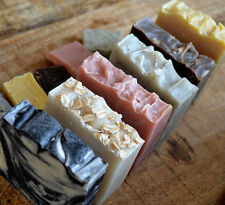Handmade ALL NATURAL SOAP Vegan ORGANIC Shea Coconut Oil Bath Body Face Soaps