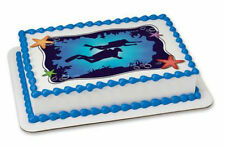 Scuba Diving Divers edible image cake topper frosting sheet personalized #20298