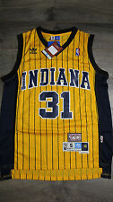Reggie Miller #31 Indiana Pacers Jersey Throwback Vintage Classic Yellow