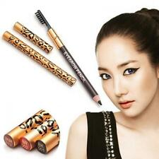 Long-Lasting Waterproof Cosmetic Brush Leopard Eyeliner Makeup Eyebrow Pencil