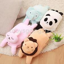 Sofa Pillow Blanket Folds into a Pillow Office Nap Bolster Cushion Animal Shaped