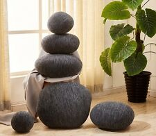 A set(6pcs) pebble stone pillow/pillowcases rock cushion/cushion covers