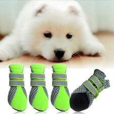 Pet Dog Puppy Boots WaterProof Anti-Slip Boots Shoes Paws Protectors 4 Sizes