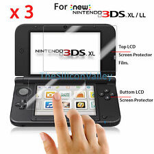Premium HD Clear Screen Protector Guard Film for New Nintendo 3DS XL /LL 2015